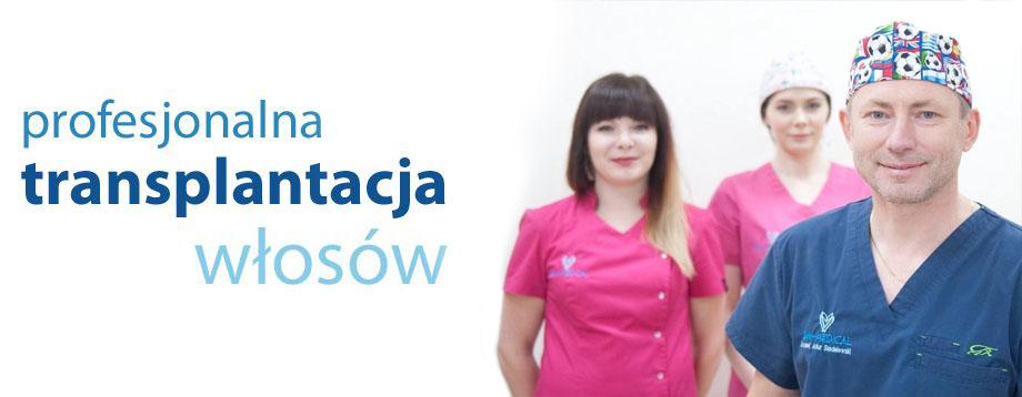 Transplantacje w�os�w Krak�w