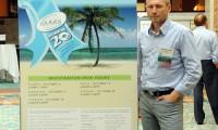 Dr Artur Sandelewski podczas zjazdu ISHRS